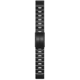 Garmin QuickFit Cinturino In Titanio 22mm Per Fenix 6S, nero